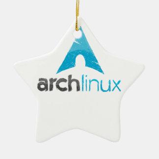 Logotipo de Linux del arco Adorno