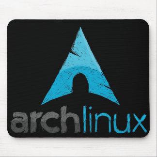 Logotipo de Linux del arco Alfombrilla De Ratones