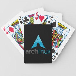 Logotipo de Linux del arco Barajas De Cartas