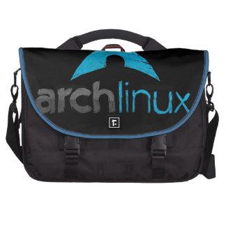 Logotipo de Linux del arco Bolsas Para Ordenador