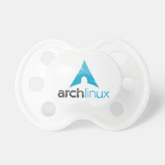 Logotipo de Linux del arco Chupetes