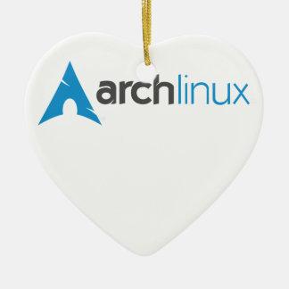 Logotipo de Linux del arco Adorno De Reyes