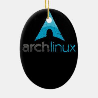 Logotipo de Linux del arco Ornamente De Reyes