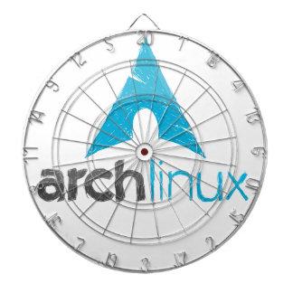 Logotipo de Linux del arco Tabla Dardos
