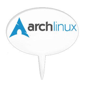 Logotipo de Linux del arco Figuras Para Tartas