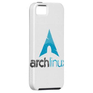 Logotipo de Linux del arco iPhone 5 Cárcasa