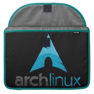 Logotipo de Linux del arco Funda Macbook Pro