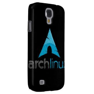 Logotipo de Linux del arco Funda Para Galaxy S4