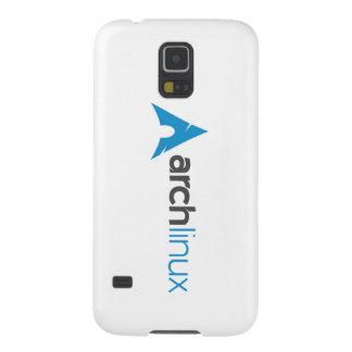 Logotipo de Linux del arco Funda Para Galaxy S5