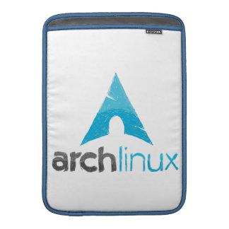 Logotipo de Linux del arco Fundas Macbook Air
