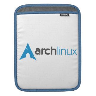 Logotipo de Linux del arco Fundas Para iPads