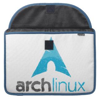 Logotipo de Linux del arco Fundas Para Macbook Pro