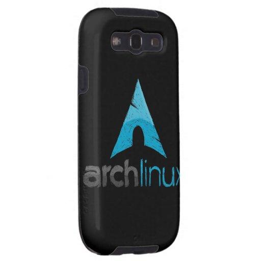 Logotipo de Linux del arco Galaxy S3 Coberturas