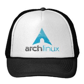 Logotipo de Linux del arco Gorros