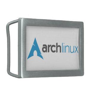 Logotipo de Linux del arco Hebilla De Cinturon