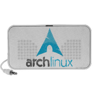 Logotipo de Linux del arco Mp3 Altavoces