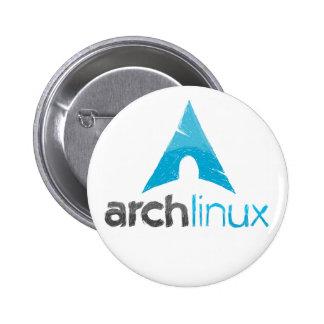 Logotipo de Linux del arco Pins