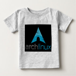 Logotipo de Linux del arco Playera De Bebé