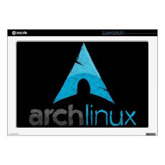 Logotipo de Linux del arco Portátil Skins