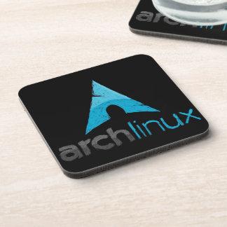 Logotipo de Linux del arco Posavasos De Bebidas