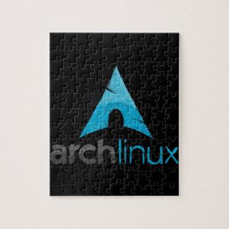 Logotipo de Linux del arco Puzzles Con Fotos