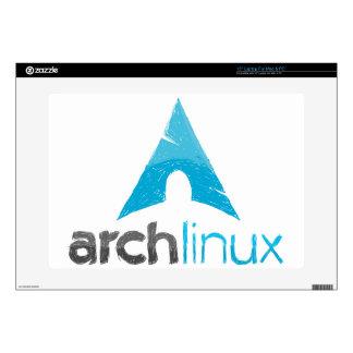 Logotipo de Linux del arco Skins Para Portátil