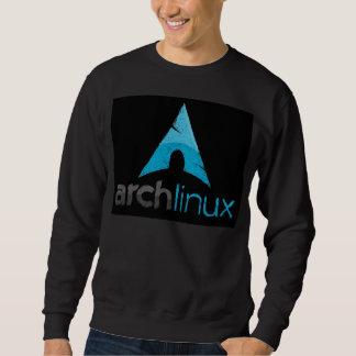 Logotipo de Linux del arco Sudadera