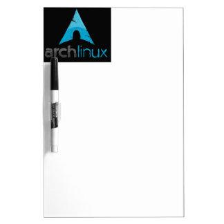 Logotipo de Linux del arco Tableros Blancos