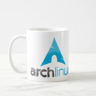 Logotipo de Linux del arco Taza Clásica