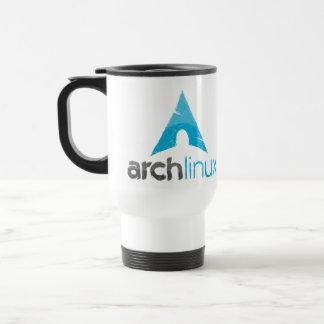 Logotipo de Linux del arco Taza De Viaje