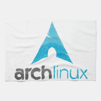 Logotipo de Linux del arco Toallas De Mano