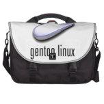 logotipo de Linux del gentoo Bolsas De Portátil