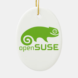 logotipo de Linux del openSuzie Ornaments Para Arbol De Navidad