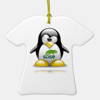 logotipo de Linux del openSuzie Adornos