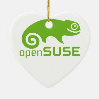 logotipo de Linux del openSuzie Ornamento Para Reyes Magos