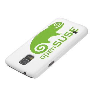 logotipo de Linux del openSuzie Carcasas De Galaxy S5