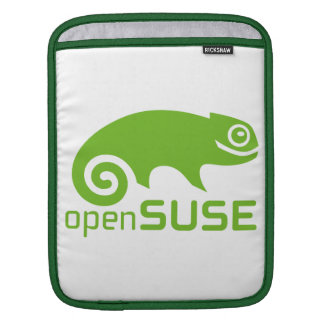 logotipo de Linux del openSuzie Funda Para iPads
