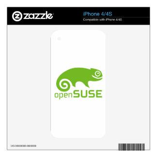 logotipo de Linux del openSuzie iPhone 4S Skins