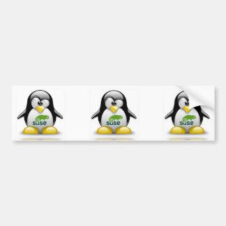 logotipo de Linux del openSuzie Pegatina Para Auto