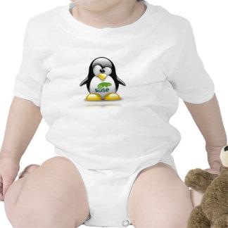 logotipo de Linux del openSuzie Camisetas