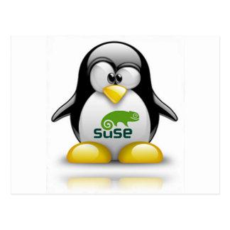 logotipo de Linux del openSuzie Postal