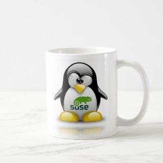 logotipo de Linux del openSuzie Taza