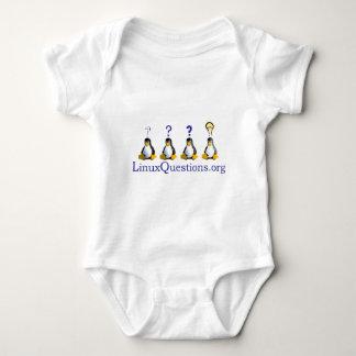 logotipo de LinuxQuestions.org Body Para Bebé