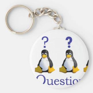logotipo de LinuxQuestions.org Llavero