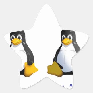 logotipo de LinuxQuestions.org Pegatina En Forma De Estrella