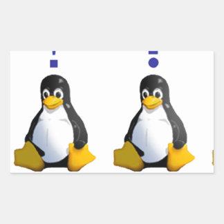 logotipo de LinuxQuestions.org Pegatina Rectangular