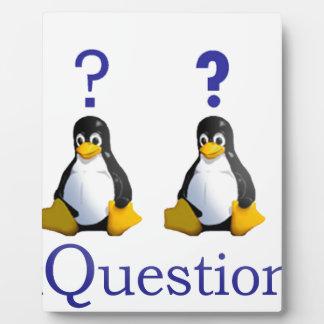 logotipo de LinuxQuestions.org Placa De Plastico