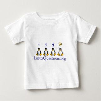 logotipo de LinuxQuestions.org Playera Para Bebé