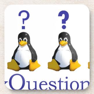 logotipo de LinuxQuestions.org Posavasos
