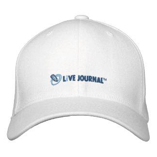 Logotipo de LiveJournal horizontal Gorras De Béisbol Bordadas